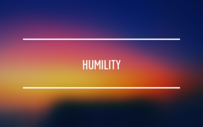 The FIVE Hallmarks of Humility